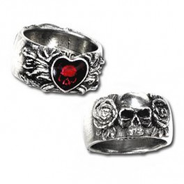 "Bague Alchemy Gothic ""Broken Heart"""