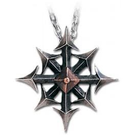 """Collier Alchemy Gothic """"Chaostar"""""""