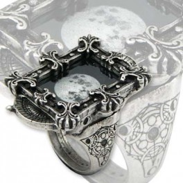 "Bague Alchemy Gothic ""Moon Phase Optimiser Ring"""