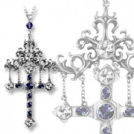 """Collier Alchemy Gothic """"The Hanging Cross Of Pressburg"""""""