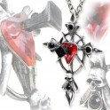 "Collier Alchemy Gothic ""Betrayal Cross"""