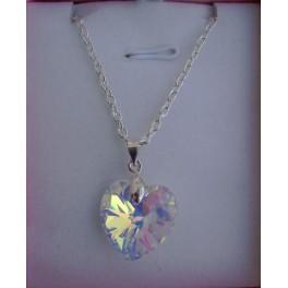 AVRIL - Pendentif en cristal de swarovski Cristal
