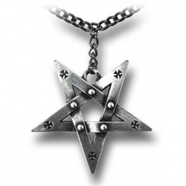 "Collier  Alchemy Gothic ""Pentagration"""