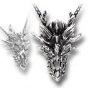 "Collier  Alchemy Gothic ""Dragon Skull"""