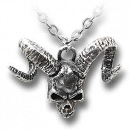 "Collier  Alchemy Gothic ""Skull of Azrael"""