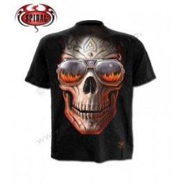 """T- shirt Anne Stokes """"Hellfire Skull"""""""