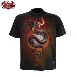 "T- shirt Anne Stokes ""Yin Yang Protector"""