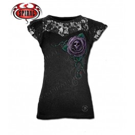 "T-shirt Anne Stokes ""Poison Rose"""