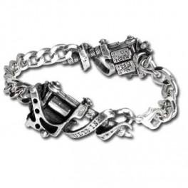 """Bracelet Alchemy Gothic """"Tattoo Gun"""""""