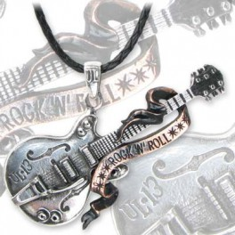 "Collier Alchemy Gothic ""Steel Guitar"""