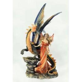 """Fée et dragon """"Magic Power"""""""
