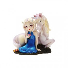 "Figurine ""Fiona and the Unicorn"" de Jasmine Becket-Griffith"