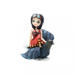"Figurine ""Poes Flight"" de Jasmine Becket-Griffith"