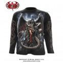"T-shirt Spiral Direct manches longues ""Dragon Lava"""