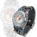 "Montre Alchemy Gothic ""Telford Chronocogulator Timepiece"""