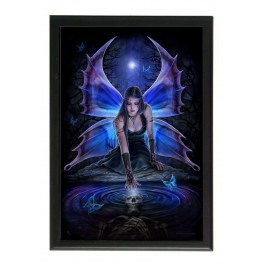 "Art Tile en céramique ""Immortal Flight"" d'Anne Stokes"