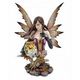 Buste fée reine des tigres