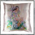 "Coussin ""in a Secret Garden"" collection Crisalis"