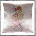 "Coussin ""Star Magnolia"" collection Crisalis"