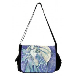 "Sac bandoulière ""Blue Moon"" de Linda Ravenscroft"