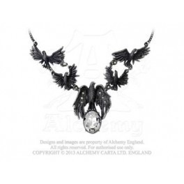 "Collier Alchemy Gothic ""A Murder of Crows"""