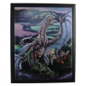 "Plaque murale ""Dragons Last Stand"" de Tom Wood"