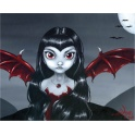 "Plaque murale ""Red Winged"" de Jasmine Becket Griffith"