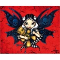 "Plaque murale ""Doomed from the Start"" de Jasmine Becket Griffith"