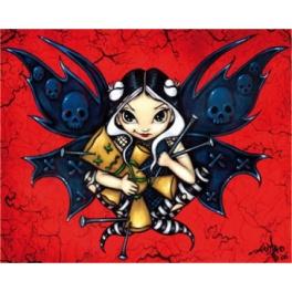 """Plaque murale """"Fairy Voodoo"""" de Jasmine Becket Griffith"""