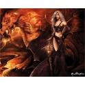 """Plaque murale """"Dragons Keeper"""" de Rene Biertempfel"""