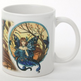 "Tasse ""Peacock Fairy"" de Meredith Dillman"