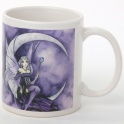 "Tasse ""Purple Moon"" de Meredith Dillman"