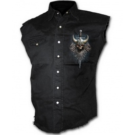 "Chemise Spiral Direct sans manches ""Viking Dead"""