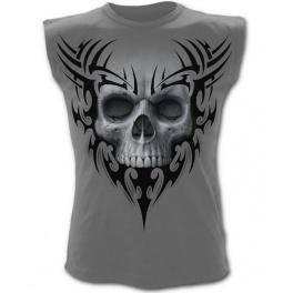 "T-shirt sans manches ""Solemn Skull"""