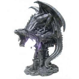 Luminaire d'ambiance dragon noir