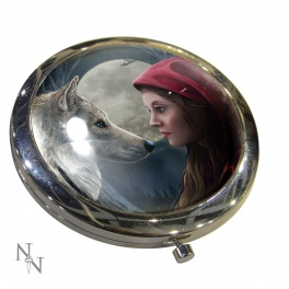 "Miroir de poche ""Moonstruck"" de Lisa Parker"