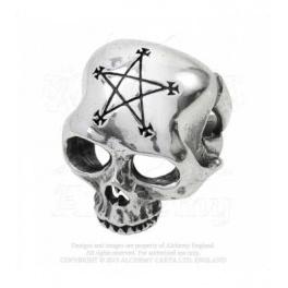 """Bague Alchemy Gothic """"Necrogram"""""""