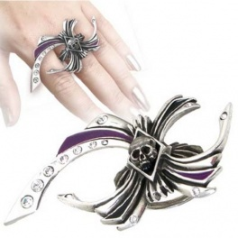 "Bague Alchemy Gothic ""Incy Wincy"""