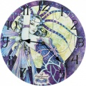 "Horloge ""Blue Moon"" de Linda Ravenscroft"