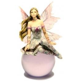 """Fée sur boule """"Lavender Serenade"""" de Nene Thomas"""