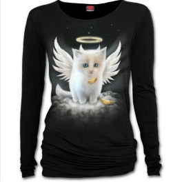"T-shirt Femme Spiral direct ""Kitten Angel"""