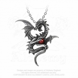 """Collier Alchemy Gothic """"Aethera Draconem"""""""