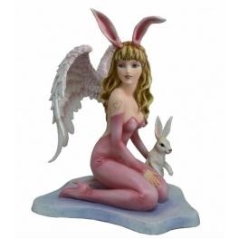 "Figurine Ange ""Bunny Tale"""