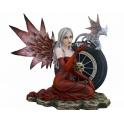 """Fée dark angel """"Red Rider"""""""