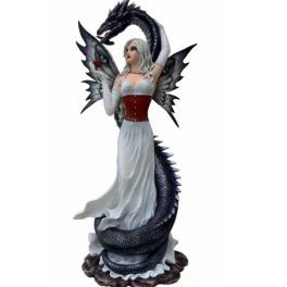Grande fée Divine et son dragon serpent