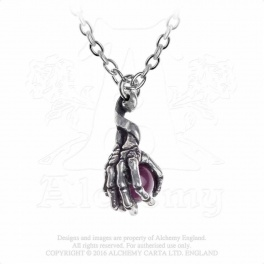 "Collier Alchemy Gothic ""Clutching Life"""