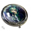 "Miroir de poche ""Perched & Sat & Nothing More"" de jasmine becket griffith"