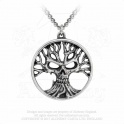 "Collier Alchemy Gothic ""Gotik Tree Of Death"""
