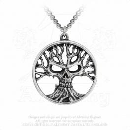 "Collier Alchemy Gothic ""Gotik Tree Of Death"""