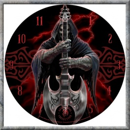 "Horloge murale Anne Stokes ""Rock God"""